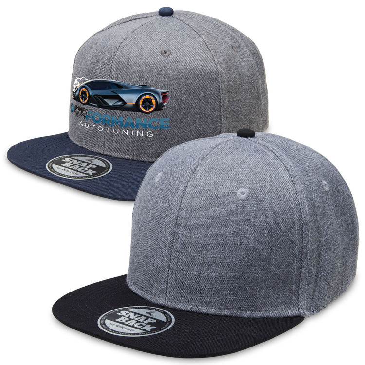 Picture of Heathered Snapback