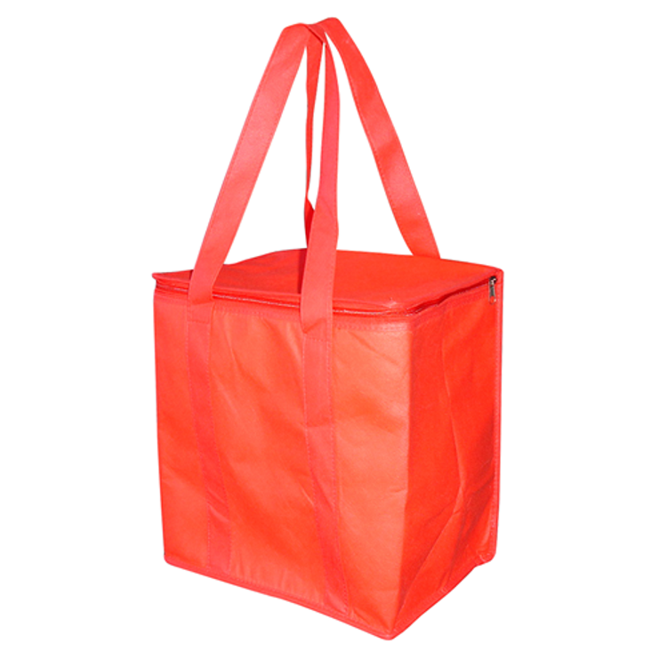 Picture of NON WOVER COOLER BAG WITH ZIPPED LID