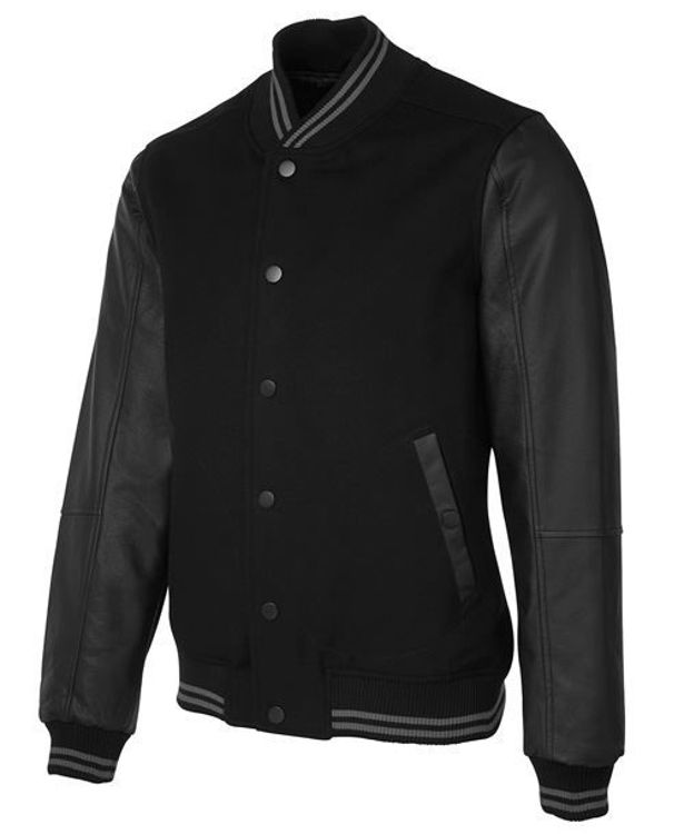 Picture of JB'S ART LEATHER BASEBALL JACKET