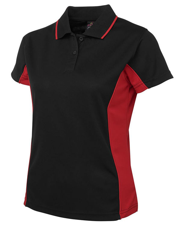 Picture of PODIUM LADIES CONTRAST POLO