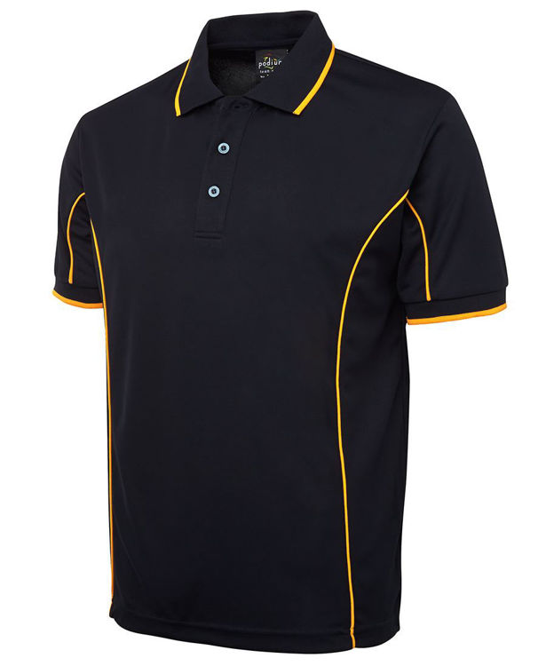 Picture of PODIUM S-S PIPING POLO