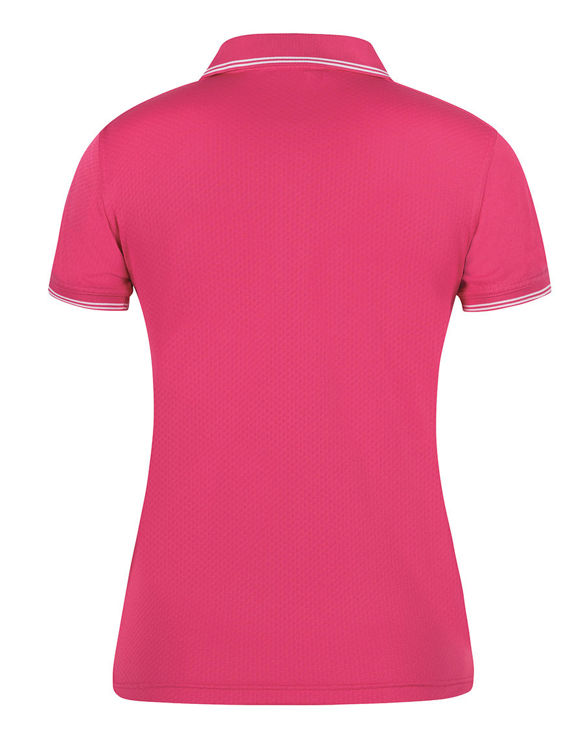 Picture of PODIUM LADIES JACQUARD CONTRAST POLO