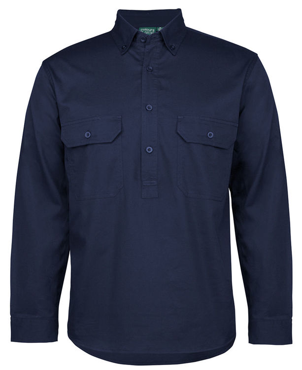 Picture of C OF C LONGREACH L/S CLOSE FRONT SHIRT