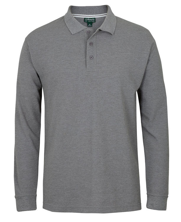 Picture of C OF C L/S PIQUE POLO