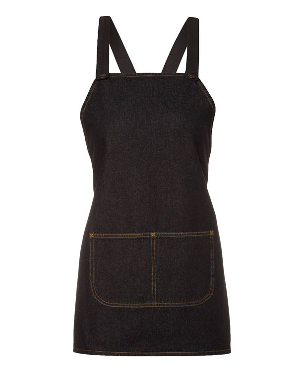 Picture of JB's CROSS BACK 65x71 BIB DENIM APRON (WITHOUT STRAP)