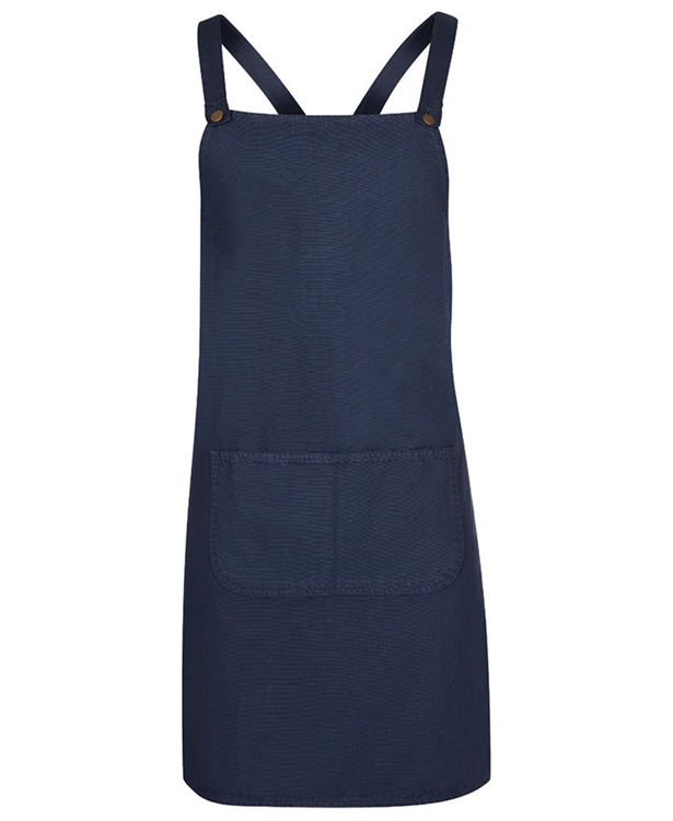 Picture of JB's CROSS BACK CANVAS APRON (WITHOUT STRAP)