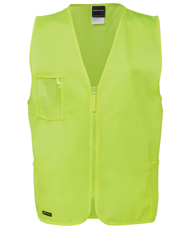Picture of JB'S HI VIS ZIP SAFETY VEST