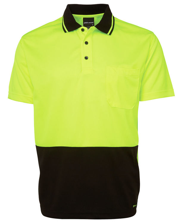 Picture of JB'S KIDS HI VIS NON CUFF TRADITIONAL POLO