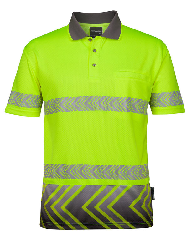 Picture of JB's S/S ARROW SUB POLO WITH SEGMENTED TAPE
