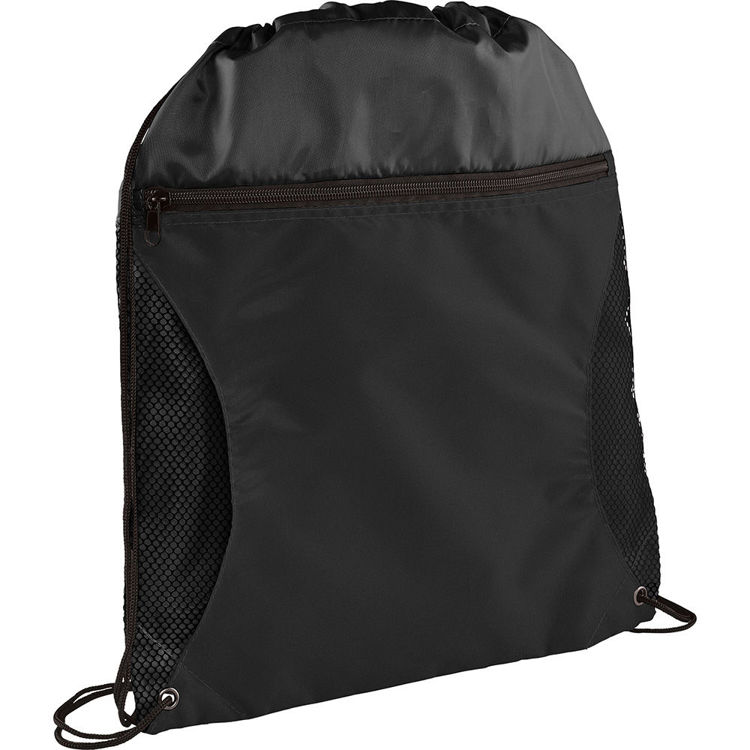 Picture of Zippered Side Mesh Drawstring Sportspack