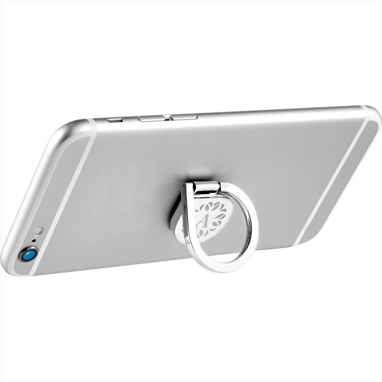 Picture of 2 in 1 Aluminum Cell Phone Ring and Stand
