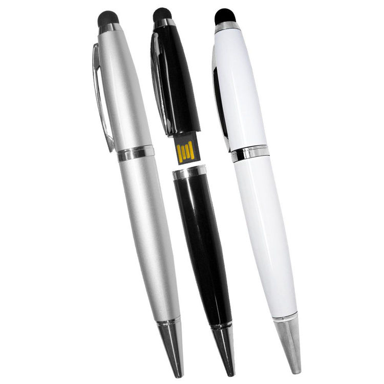 Picture of USB Flashdrive Pen with Stylus